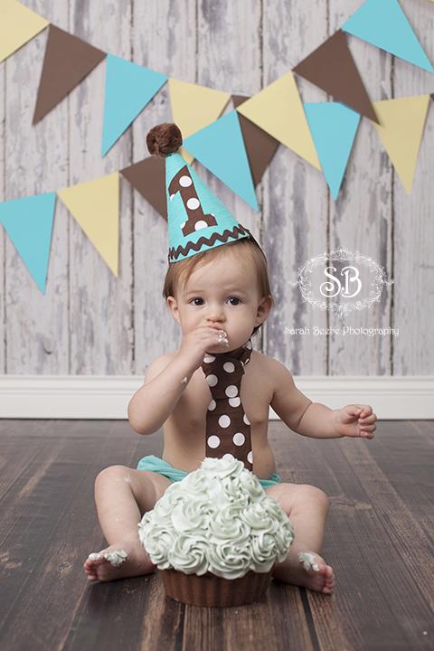Cake Smash Fun For 1 Year Old Baby P