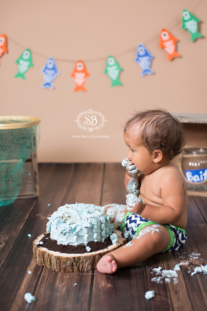 The Big One Cake Smash and Family Session