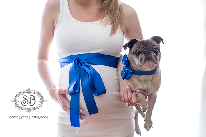 In Studio Maternity Session with Beautiful Mom to be Kelowna