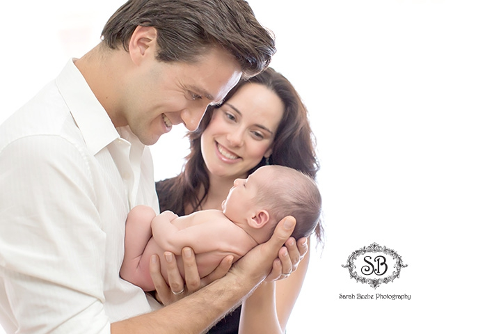 Beautiful Family and Brand New Baby Boy in Kelowna Studio Summer 2015