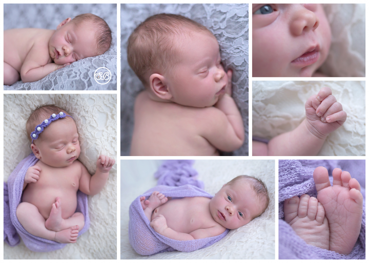 Sweet Newborn Baby Girl {SBP Kelowna Studio Session}