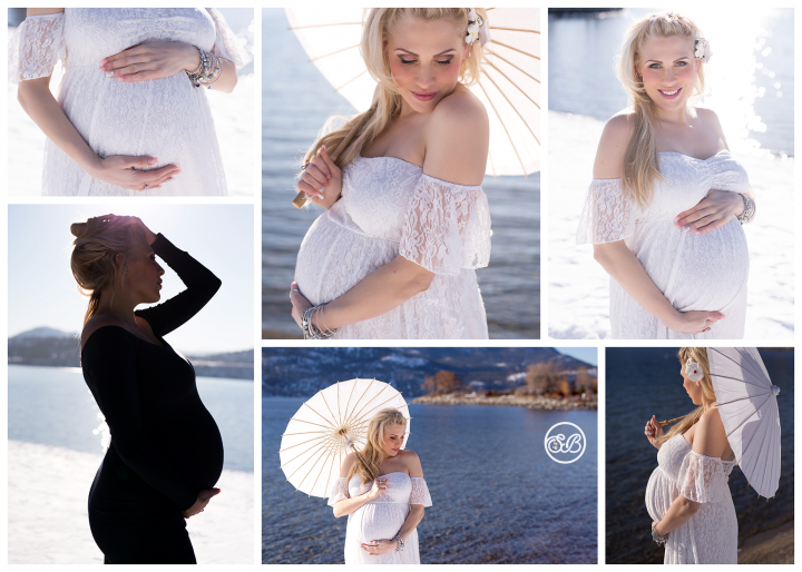 Beautiful Winter Beach Session {Toes in the Snow}