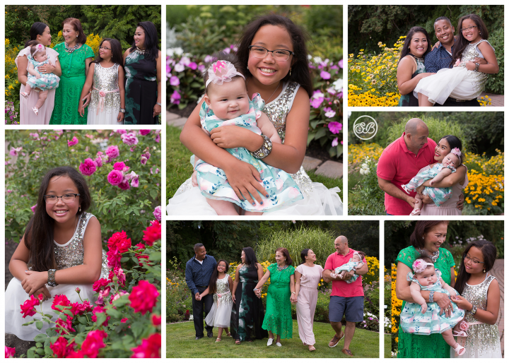 Formal Summer Garden Session {Family Reunion}