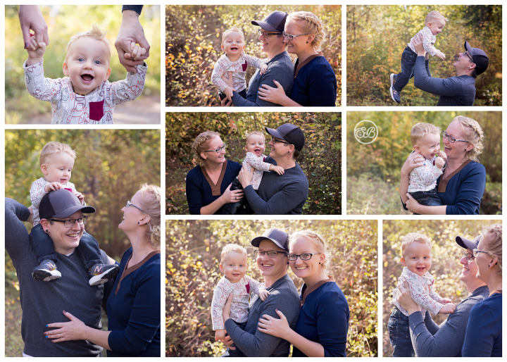 Such a Smiley Boy! {Beautiful Fall Family Session}