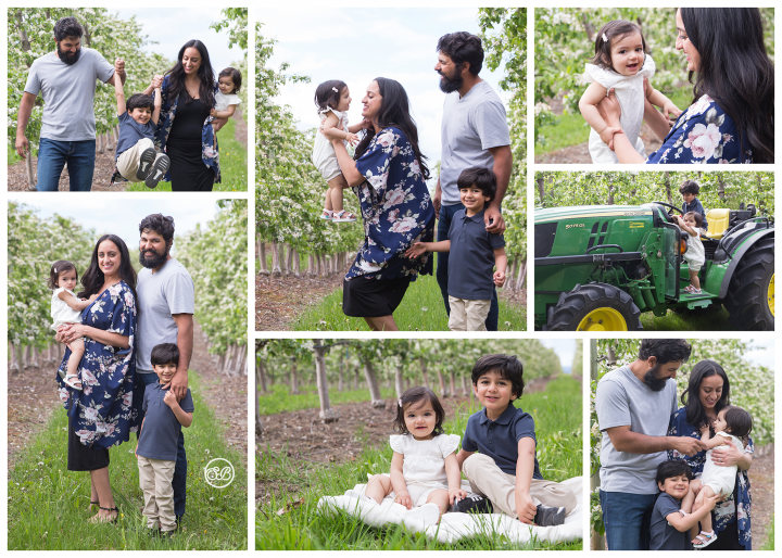 Such a Beautiful Family {Kelowna Orchard Session}