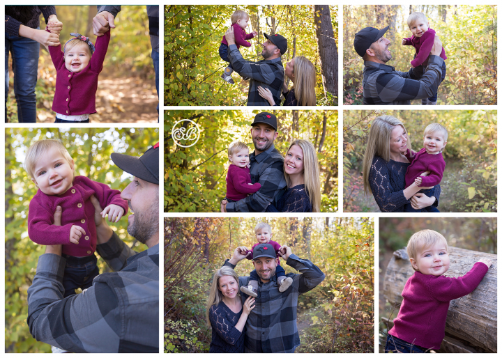 Sweet Family Session {Those Smiles, This Fall Light!}