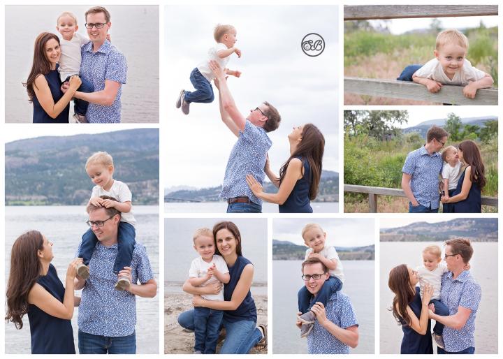 Beautiful Kelowna Family Play on Okanagan Lake Beach {Summer 2019}