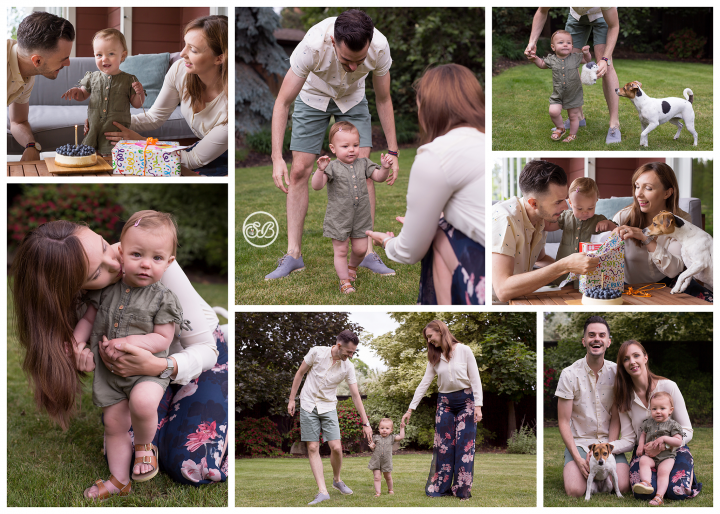 Cute At-Home First Birthday Celebration