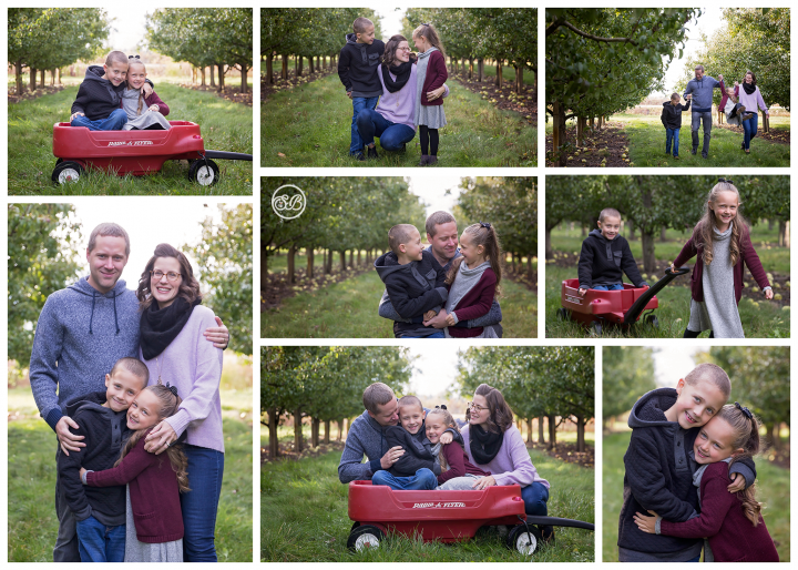Lovely Family Orchard Session Fall 2019