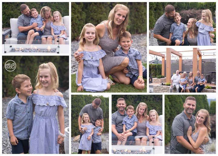 Beautiful Family Session {Backyard At Home Kelowna}