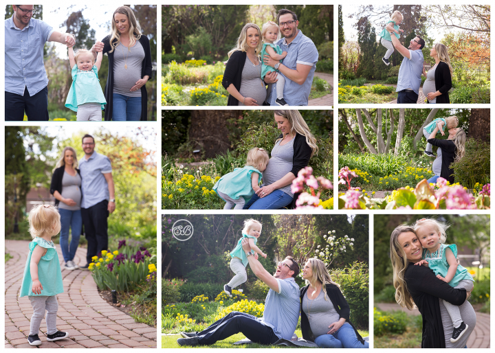 Family Maternity Session in the Okanagan Sun