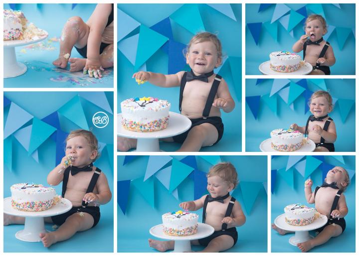 Cake Smash STAR! {Milestone Photography}