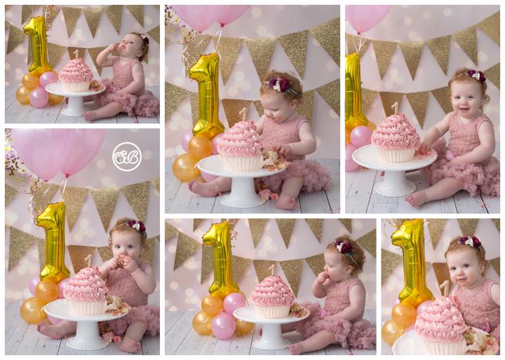 Cake Smash Cute {Celebrate Turning One!} Milestone Photographer
