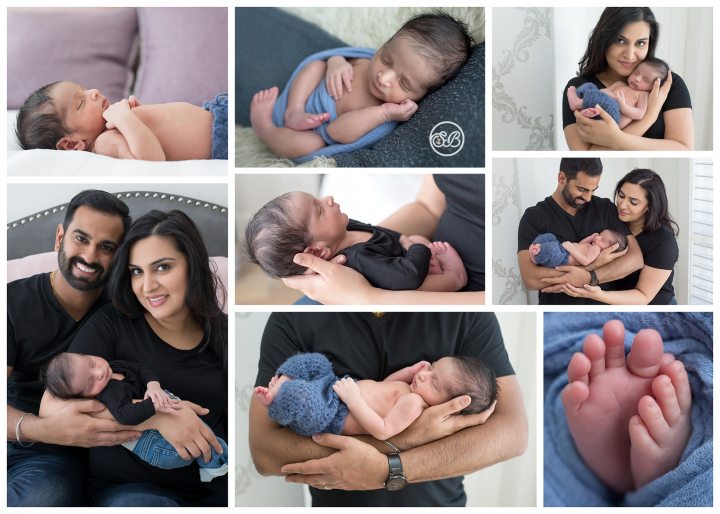 At Home Newborn Session {Baby Boy Sweetness}