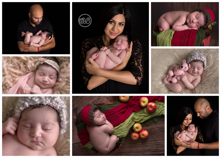 Beautiful Family and Baby Girl (Orchard themed)