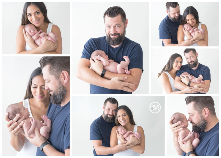 Beautiful Family Welcomes Baby Girl {SBP Kelowna Studio Session}