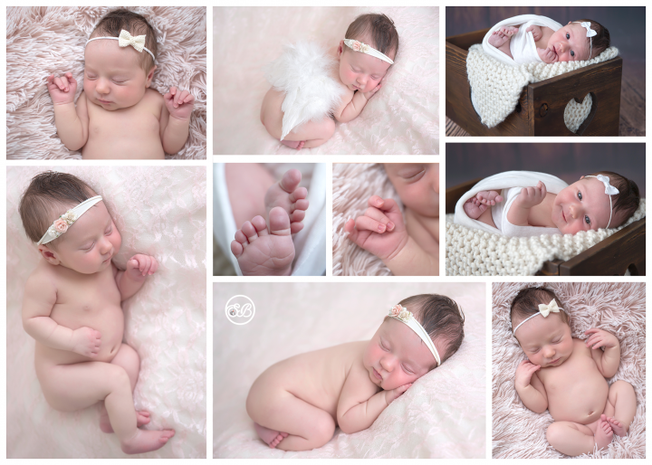 Beautiful Baby Girl {Newborn Posing in SBP Kelowna Studio}