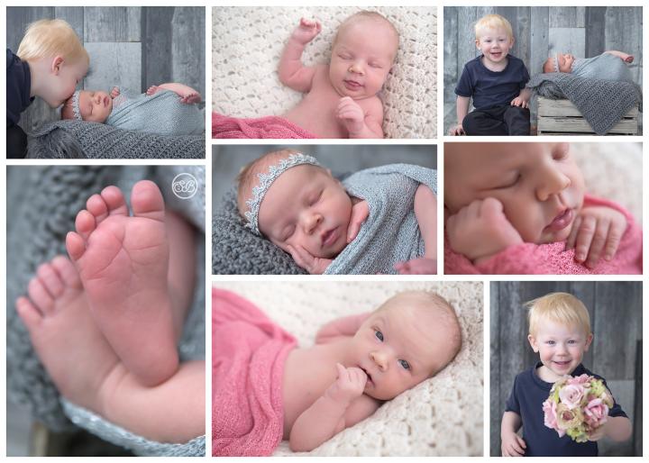 Adorable Baby Girl Welcomed by Big Brother {SBP Kelowna Studio}