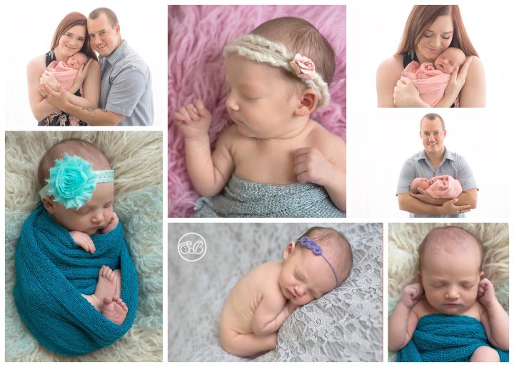 Beautiful Baby Girl in Kelowna SBP Studio