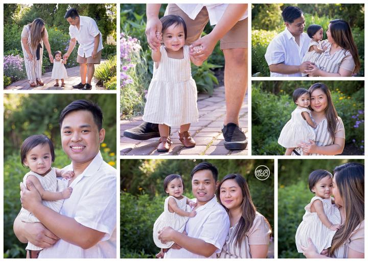 Beautiful Family Celebrates Baby Girl's First Birthday {Milestone Session}
