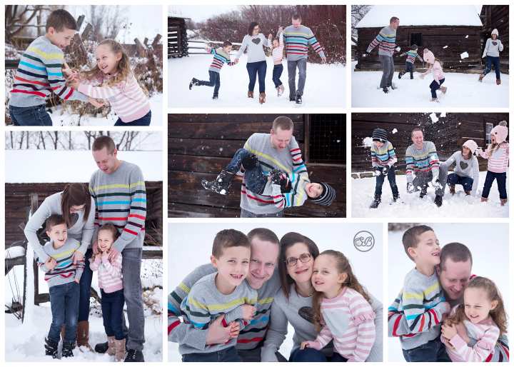 Winter Family Session {Fun in the Snow}