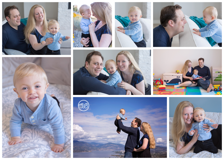 Adorable At Home Family Session