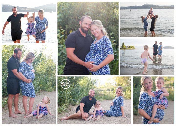 Beautiful Summer Family Maternity Session {Beach Life}