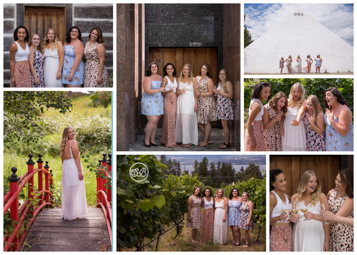 Girls Weekend Summerhill Winery Photoshoot
