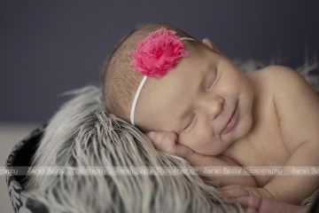 Newborn Baby K Graces our Kelowna Studio with her Sweet Smiles
