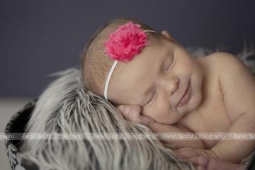 Newborn Baby K Graces our Kelowna Studio with her Sweet Smiles