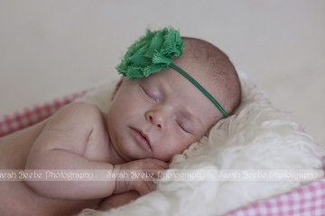 Spring Newborn Baby E Graces our Natural Light Kelowna Studio