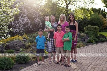 Kelowna Photographer Family of 7