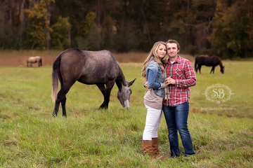 Fun Engagement Session at Kelowna Farm Fall 2014