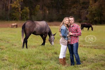 Fun Engagement Session at Kelowna Farm Fall 2014