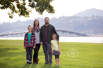 Family Session Fun in Kelowna's Downtown Sunshine Fall 2014