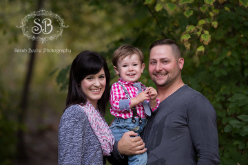 Fall Family Session in Kelowna's Mission Creek Park