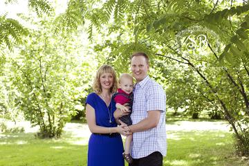 Summer 2014 Family in West Kelowna Park