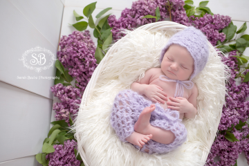 Adorable Spring Baby in Kelowna SBP Studio 2015