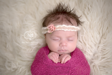 Beautiful Baby Girl March 2015 Kelowna Studio