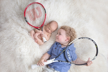 Tennis Loving Okanagan Family Celebrates Birth of Baby Boy