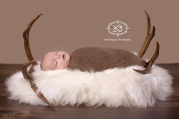 Newborn Boy Celebrates Life Hunter Style Feb 2015