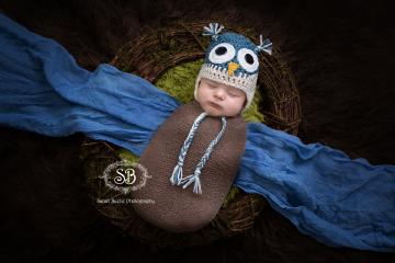 Sweet Little Newborn Owl & Smiles to Boot January 2015
