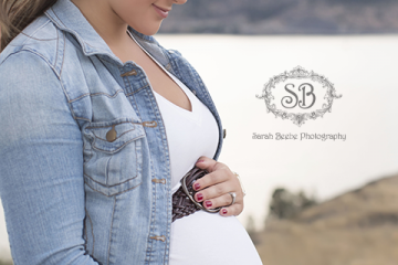 Beautiful Parents to be Enjoy an Okanagan Valley Summer Sunset ~ SBP Maternity Session