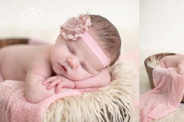 Beautiful Baby Girl in Kelowna Studio