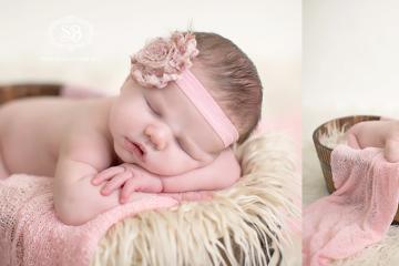 Beautiful Baby Girl in Kelowna Studio