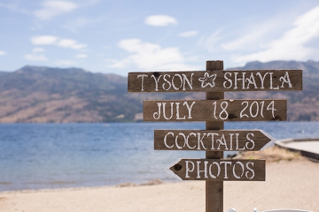 Beautiful Couple Celebrates Marriage at The Cove in West Kelowna