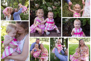 Fun Family Session at Kelowna Garden
