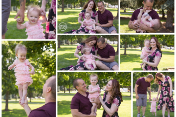 Beautiful Family in Kelowna Park {Celebrate Turning 1!}