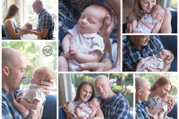Beautiful In Home Newborn Family Session {Kelowna, BC}