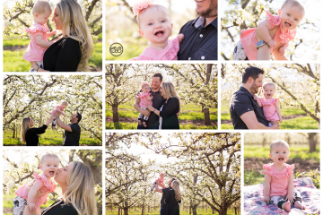 Orchard Smiles and Blossom Laughter {Little Star Session}